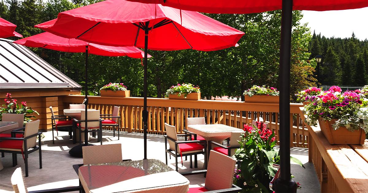 Alpha Bistro Restaurant Banff Rocky Mountain Resort