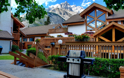 BBQ's at the Rocky Mountain Resort