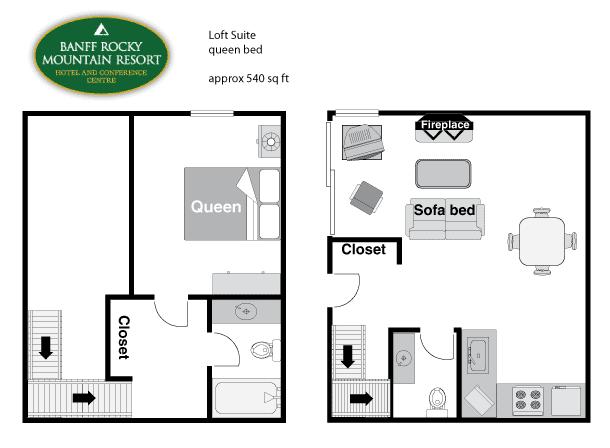 Loft Condo Floor Plan