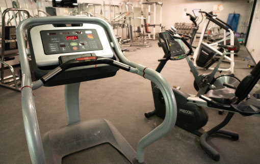 Treadmill Fitness Room