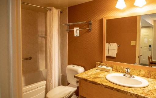 One Bedroom Condo bathroom