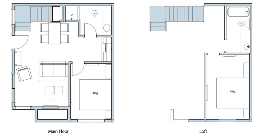 Superior Two Bedroom Suite Floor Plan