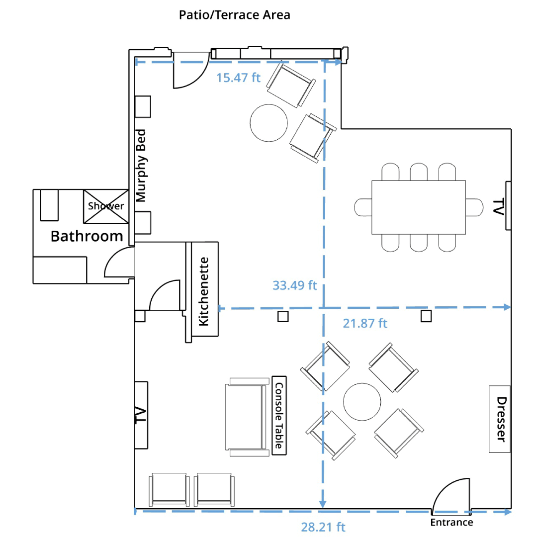 White Wolf Suite Floor Plan