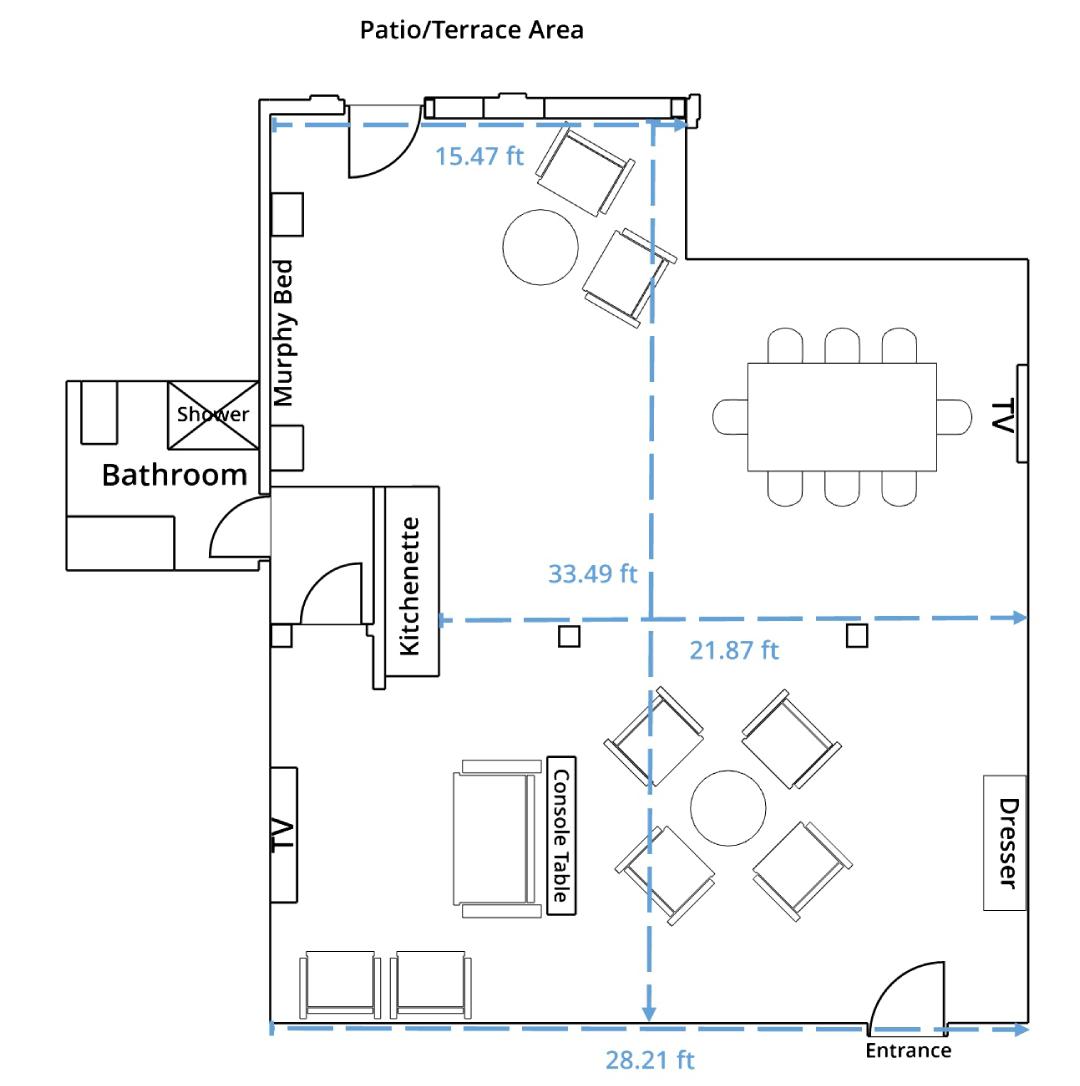 White Wolf Suite Floor Plan