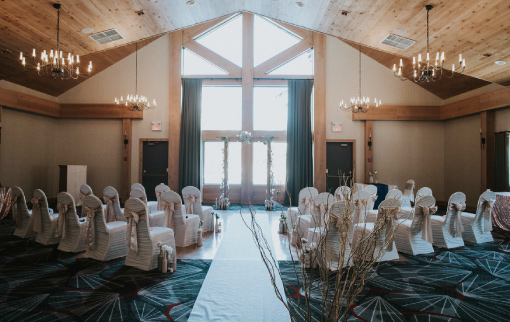 Ceremony in the Timber Wolf Room