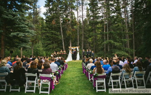 Pine Meadows Wedding Ceremony