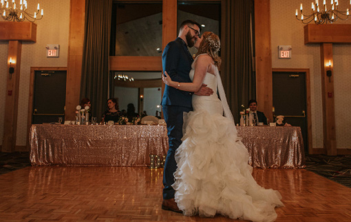 First Dance in the Timber Wolf Room