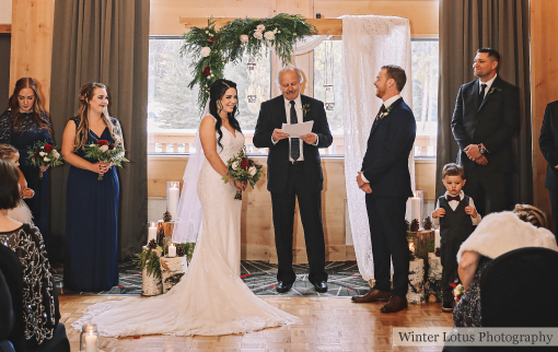 Ceremony in the Grey Wolf Room