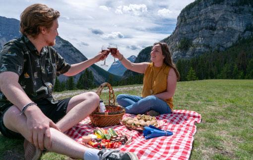 Enjoy a Picnic in Banff